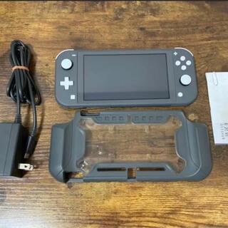 Nintendo Switch - ニンテンドーSwitchライト 専用カバー持ち運びケース付き
