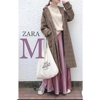 ZARA - 【新品・未使用】【訳あり】ZARA サテン ロング スカート  M