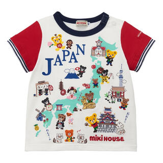 mikihouse - ミキハウス 【50周年企画】ご当地Tシャツ☆JAPAN 130cm