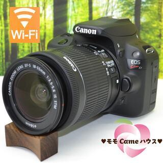 Canon - キヤノン Kiss X7♪スマホに転送♪タッチパネル操作☆1371