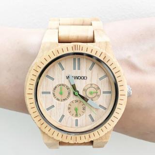 ハコ(haco!)のWEWOOD 腕時計 (腕時計)