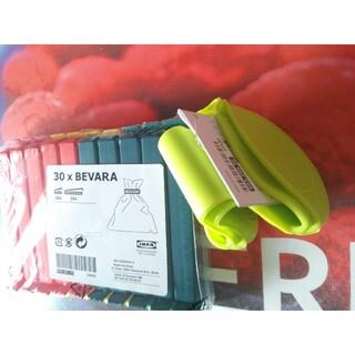 IKEA - 新品 イケア♪IKEAお得なキッチン雑貨*袋止めクリップとシリコン鍋つかみセット