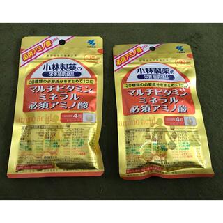 コバヤシセイヤク(小林製薬)の小林製薬 マルチビタミン ミネラル 必須アミノ酸 30日分×2袋セット(ビタミン)