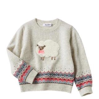 familiar - ファミリア ニット セーター 110サイズ