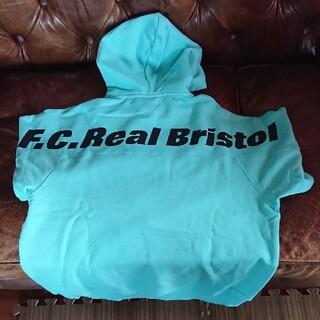 F.C.R.B. - F.C.Real Bristol EMBLEM HOODIE ライトブルー S