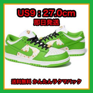 シュプリーム(Supreme)のSupreme®/Nike® SB Dunk Low 27cm 即日発送(スニーカー)