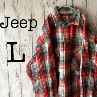 ジープ(Jeep)の【Jeep×アメカジ】ジープ 古着 90's メンズ トップス シャツ ★激レア(シャツ)