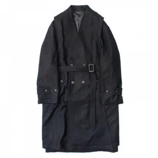 1LDK SELECT - stein Oversized Liner No Collar Coat