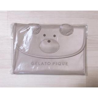 gelato pique - ジェラートピケ ベア 母子手帳ケース M