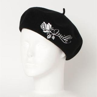 ミルク(MILK)のMILK ROSY ベレー帽(ハンチング/ベレー帽)