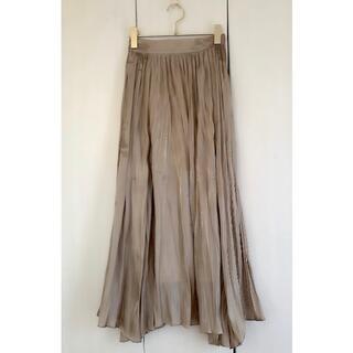 snidel - snidel♡ベージュロングスカート♡オールシーズン使えます