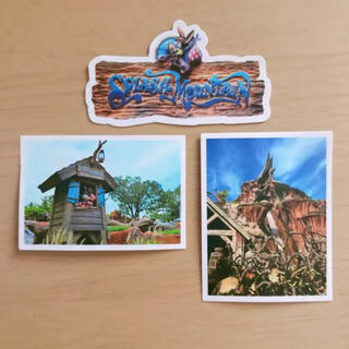 Disney - ディズニー スプラッシュマウンテン ステッカー