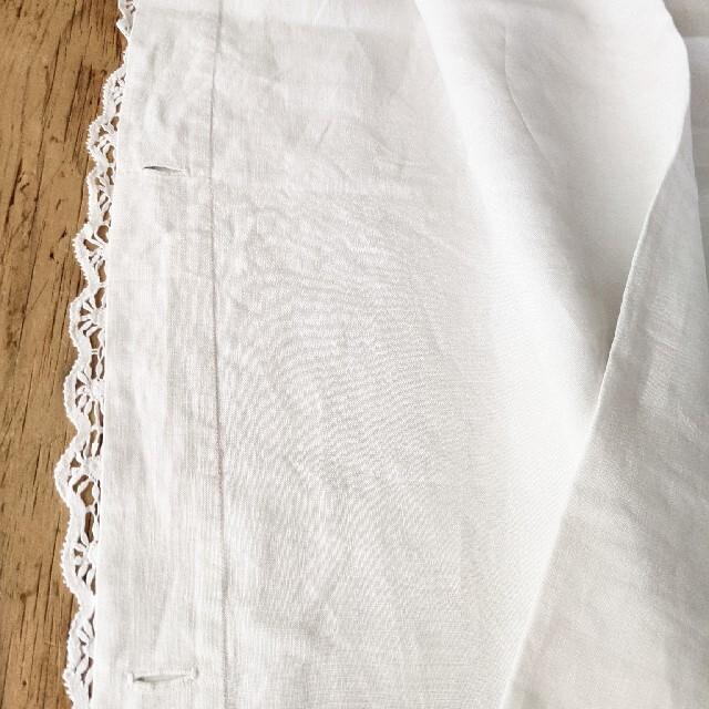 アンティークリネンシーツ インテリア/住まい/日用品の寝具(シーツ/カバー)の商品写真