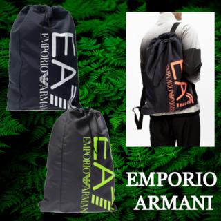 エンポリオアルマーニ(Emporio Armani)の★SALE☆【EMPORIO ARMANI】 EA7 ロゴ付きバックパック(バッグパック/リュック)