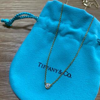Tiffany & Co. - ティファニーダイヤモンドバイザヤードシングルダイヤモンドペンダント