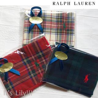 Ralph Lauren - プチギフトに ラルフローレン ハンカチタオル 3枚セット