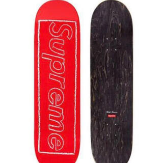 Supreme - supreme 21ss KAWS Chalk Logo Skateboard