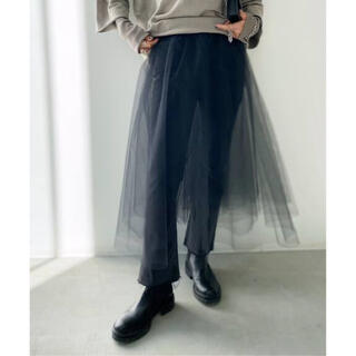 L'Appartement DEUXIEME CLASSE - L'Appartement Tulle Skirt チュールスカート ブラック