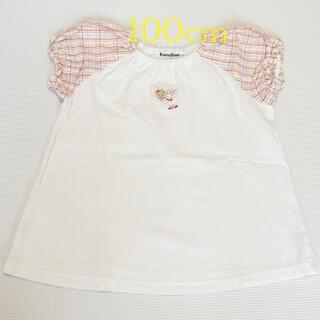 familiar - 【familiar】フレアTシャツ 100cm 女の子 美品