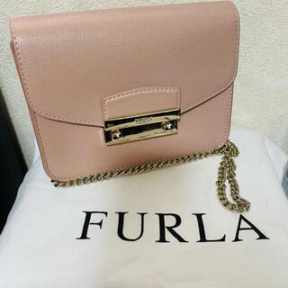 Furla - 【美品】フルラ ショルダーバッグ レディースバッグ メトロポリス ピンク