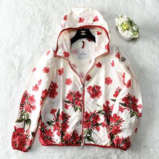 MONCLER - 未使用 MONCLER モンクレール 花柄 お刺繍 ブルゾン ジャケット