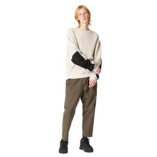 ユニフォームエクスペリメント(uniform experiment)のWASHED ELBOW PATCHED WIDEWAFFLE CUT&SEWN(Tシャツ/カットソー(七分/長袖))