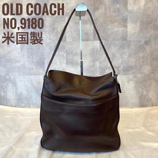 COACH - 【オールドコーチ】OLD COACH レザーショルダーバッグ 9180 米国製