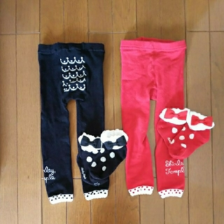 Shirley Temple - シャーリーテンプル レギンス 靴下 セット