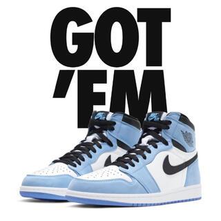 NIKE - Nike Air Jordan 1 University Blue 28㎝