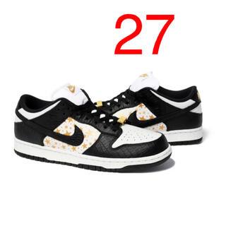 Supreme - Supreme Nike SB Dunk Low 黒 27cm  送料込み