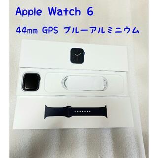 Apple - Apple Watch Series6 ブルーアルミニウム 44mm GPS