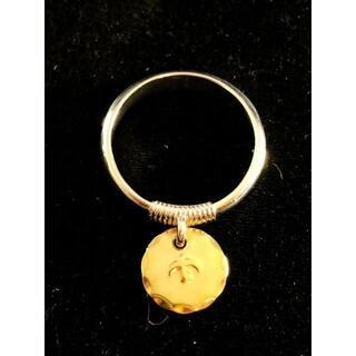 ゴローズ(goro's)の送料無料 大特価 ゴローズ 金メタル付き チャームリング 16号(リング(指輪))