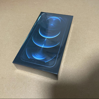 iPhone - 新品未使用未開封iPhone 12 pro 256gb SIMフリー ブルー
