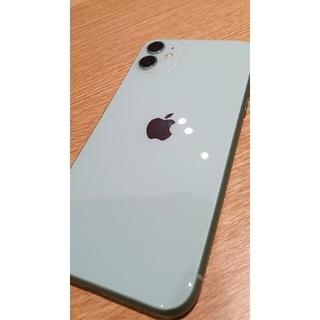 iPhone - Apple iPhone 11  128gb green 超美品