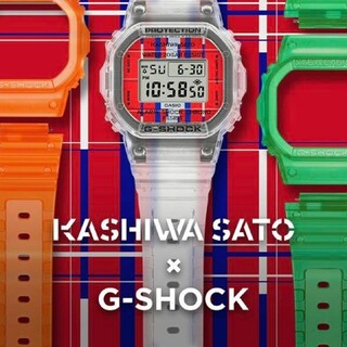 G-SHOCK - G-SHOCK 佐藤可士和コラボモデル / DWE-5600KS-7JR 4つセ