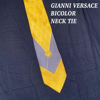 ジャンニヴェルサーチ(Gianni Versace)のGIANNI VERSACE ジャンニヴェルサーチ 総柄 ロゴ 配色 ネクタイ(ネクタイ)