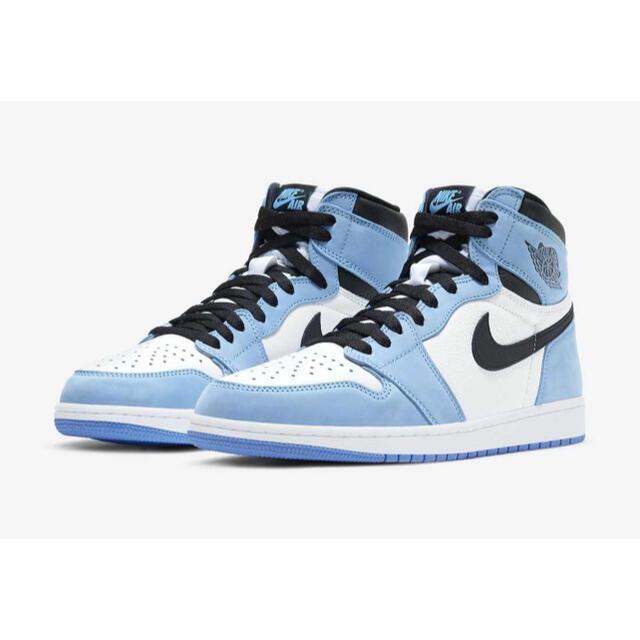 "NIKE(ナイキ)のNIKE AIR JORDAN 1""UNIVERSITY BLUE"" レディースの靴/シューズ(スニーカー)の商品写真"