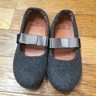 mezzo piano - 卒園式  靴  19センチ  女の子  HUSHUSH