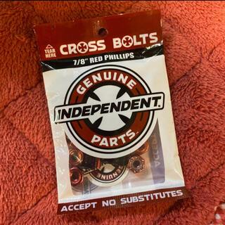 インディペンデント(INDEPENDENT)のINDEPENDENT インディ カラービス RED スケボー小物 新品 (スケートボード)