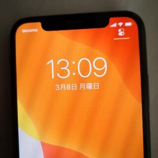 Apple - 美品 iPhoneX 64gb ブラック 残債なし simフリー