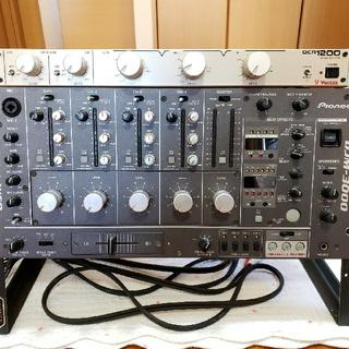 パイオニア(Pioneer)のPioneer DJM-3000 、Vestax  DCR1200  セット(DJミキサー)
