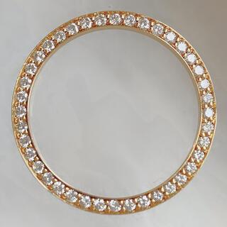 K18 ダイヤモンド 時計 ベゼル アフターダイヤ ロレックス デイトジャスト用