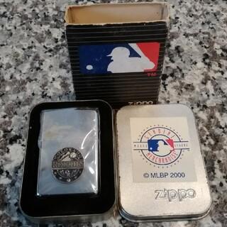ジッポー(ZIPPO)の2000年製·ZIPPO ·MLB コロラド·ロッキーズ新品未使用(タバコグッズ)
