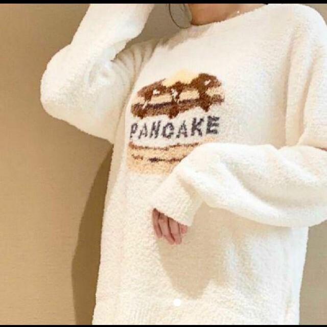 gelato pique(ジェラートピケ)の新品 ジェラートピケ パンケーキ柄 ワンピース レディースのルームウェア/パジャマ(ルームウェア)の商品写真