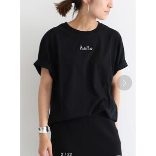 フレームワーク(FRAMeWORK)のフレームワークFRAMeWORK 30/1テンジクチビロゴT◆(Tシャツ(半袖/袖なし))