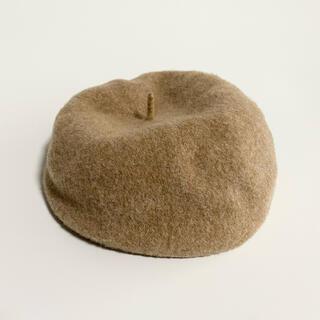 ビームスボーイ(BEAMS BOY)のBEAMS BOY ベレー帽 ブラウン(ハンチング/ベレー帽)