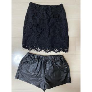 リゼクシー(RESEXXY)のRESEXXY スカート ショートパンツ(ひざ丈スカート)