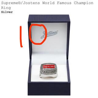 シュプリーム(Supreme)の10 supreme ring 指輪(リング(指輪))