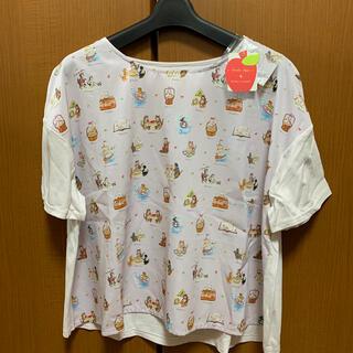 franche lippee - フランシュリッペ  オリプリスカーフTシャツ(新品)