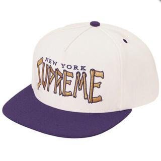 Supreme - Supreme Bones Logo 5-Panel ホワイト 新品 正規品